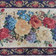 他の写真を見る2: 薔薇柄のゴブラン織りタッセル付き テーブルウェア
