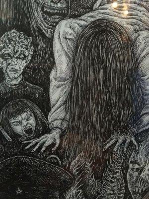 画像3: 「和製恐怖劇場」Japanese Horror Theater 近藤宗臣直筆原画