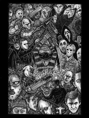 画像1: 「殺戮の誓い」 An Oath of Slaughter 近藤宗臣直筆原画