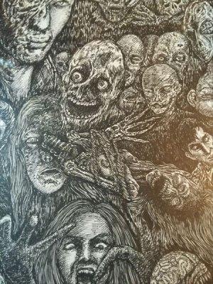 画像2: 「ゾンビ・パーティ」  Zombie Party 近藤宗臣直筆原画