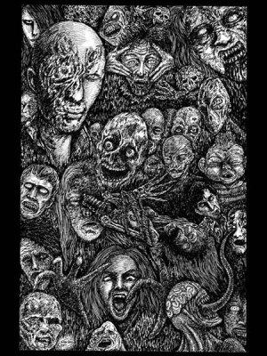 画像1: 「ゾンビ・パーティ」  Zombie Party 近藤宗臣直筆原画