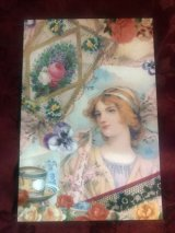 Rakka Victorian Post card「Lady」
