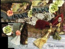 他の写真を見る3: 「病の薔薇、うたかた」レースバッグ