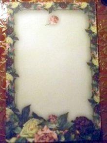 他の写真を見る1: 【再入荷】Victorian Rose 薔薇フレーム レターセット