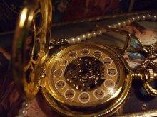 他の写真を見る1: [再入荷]手巻き式蓋つき懐中金時計