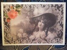 他の写真を見る1: Favorite Rose ヴィクトリアン柄ポストカード