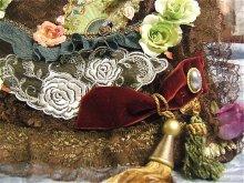 他の写真を見る2: 「病の薔薇、うたかた」レースバッグ