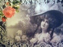 他の写真を見る3: Favorite Rose ヴィクトリアン柄ポストカード