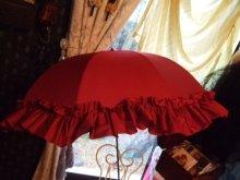 他の写真を見る1: 【再入荷】プリンセスボリュームフリルアンブレラ(雨傘)