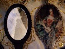 他の写真を見る2: ロマンスクイーンズシリーズハンドピクチャーミラー