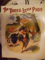 洋書[TheThree Little Pigs]Story Book