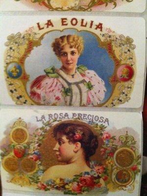 画像1: Victorian seal  貴婦人柄ラベル