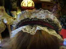 他の写真を見る3: ヘッドドレス風カチューシャ「クラシカルモノクロゥム。」