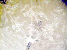 他の写真を見る3: 【予約】レーシーフリルアンティークデザインパゴダパラソル(日傘)