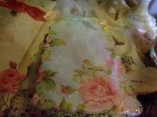 他の写真を見る1: [再入荷]薔薇柄リボン付きメモパッド