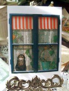 他の写真を見る1: 【再入荷】Annemarie Bardon Cat Post Card