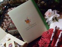 他の写真を見る2: [再入荷]不思議の国のアリス 時計ウサギゴールドヒメフォーク5本ギフトセット