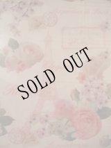 【再入荷】イタリア製エレガントな薔薇のプラランチョンマットピンクローズ