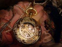 他の写真を見る3: [再入荷]手巻き式蓋つき懐中金時計
