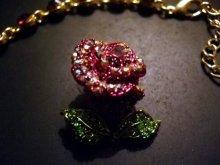 他の写真を見る3: イタリア製フルスワロフスキー大輪の薔薇のジュエリーセット