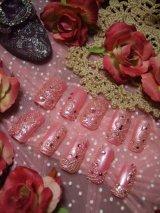 [art nail] Pink Parade