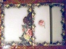 他の写真を見る3: 【再入荷】Victorian Rose 薔薇フレーム レターセット