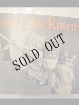 洋書[Four Little Kittens]Story Book