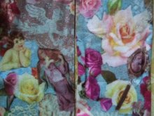 他の写真を見る2: 【再入荷】薔薇と天使のヴィクトリアンコラージュハイソックス