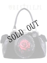 【再入荷】 [Red rose] romantic goth handbag