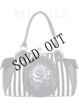 [再入荷] Black rose neo-victorian bag