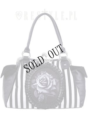 画像1: [再入荷] Black rose neo-victorian bag