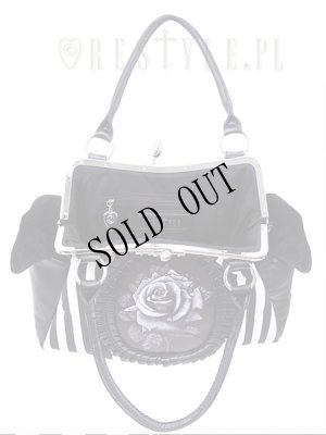 画像2: [再入荷] Black rose neo-victorian bag