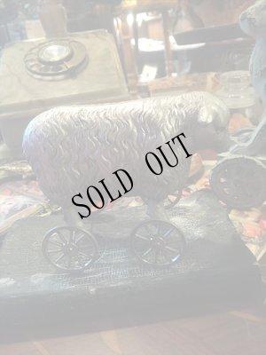 画像2: retro sheep ミニホィールシープ 車輪の羊