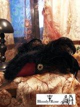 トリコーンハット 三角帽子「Lady Masquerade」