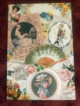 Rakka Victorian Post card「Fan」
