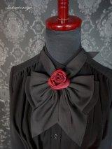 lustreetrange rose ribbon tie