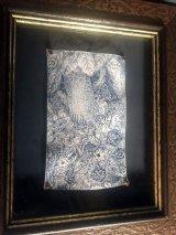 uroko-額入り絵 羊皮紙ドローイング「Forest」