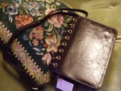 画像3: 【再入荷】アンティークブックスタイルバッグ