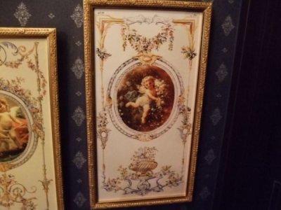 画像1: イタリア製金額縁 天使のアートフレーム