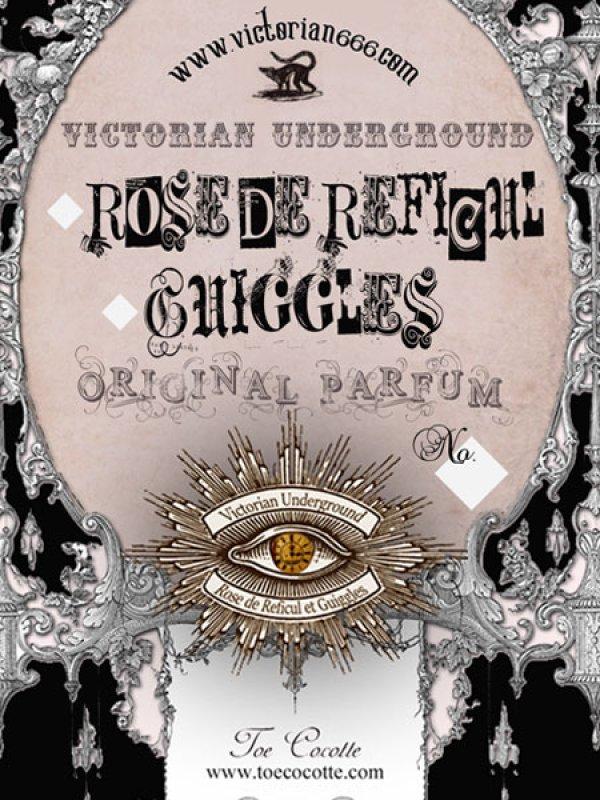 画像1: [再入荷&NEW] Rose de Reficul et Guiggles Fragrance series perfume et Aroma Wax (1)