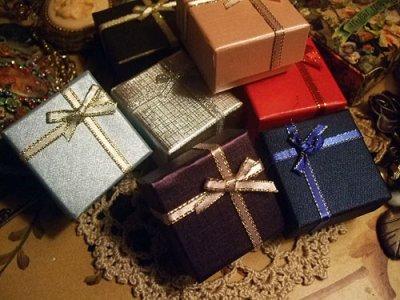 画像3: レトロクロスリボンリングプレゼントボックス