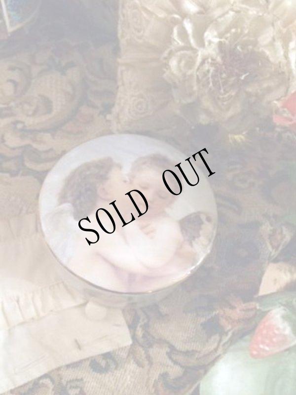 画像1: 【再入荷】Adolphe William Bouguereau画 天使陶器小物入れ (1)