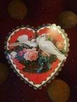 画像2:   DOVES HEART ダイカットスモールカード<無地多用途> (2)