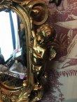 画像10: 天使壁掛け鏡 エンジェルウォールミラー GOLD (10)