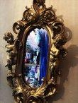 画像5: 天使壁掛け鏡 エンジェルウォールミラー GOLD (5)